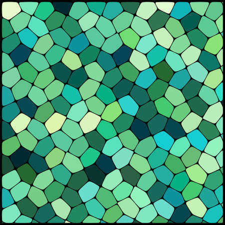 geometrical shapes: abstract background consisting of of geometrical shapes, vector illustration Illustration