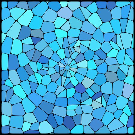 geometrical shapes: abstract background consisting of geometrical shapes, vector illustration Illustration