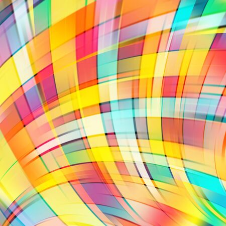 smooth background: Colorful smooth light lines background. Vector illustration Illustration