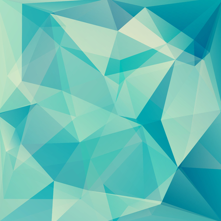 background banner: abstract background consisting of triangles, vector illustration