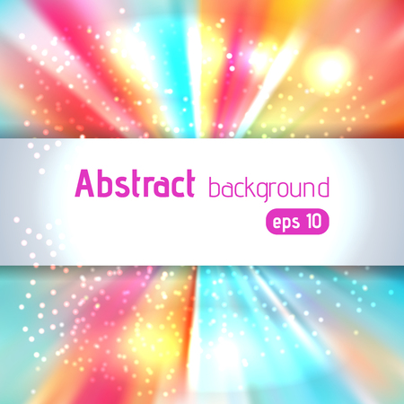 background of orange, yellow, pink, blue luminous rays