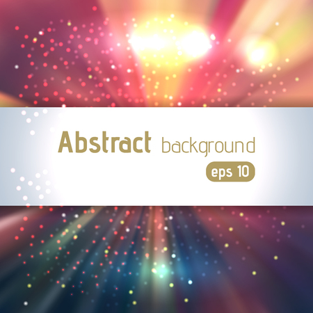 nebulous: abstract colorful space background, cool vector illustration