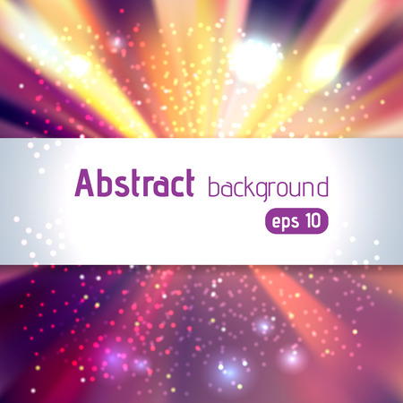 xmas parties: abstract colorful background with place for text, vector illustration Illustration