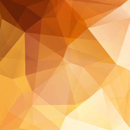 imposition: abstract background consisting of gold triangles, vector illustration