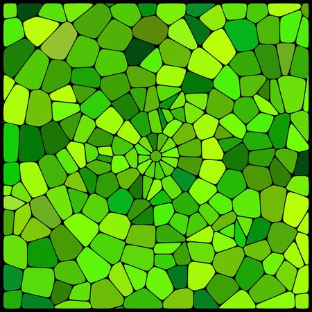 geometrical shapes: abstract background consisting of green geometrical shapes, vector illustration