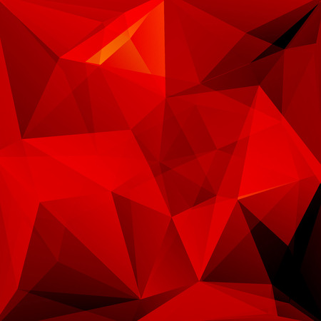 rouge et noir: abstract background consisting of red, black triangles, vector illustration Illustration