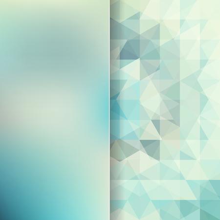 삼각형 및 매트 유리, 벡터 일러스트 레이 션 이루어진 추상적 인 배경