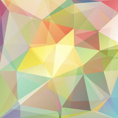 blue gradient: abstract background consisting of triangles, vector illustration
