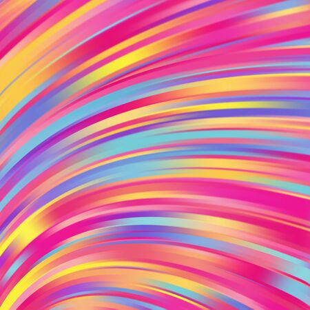 on smooth: Colorful smooth light lines background. Vector illustration Illustration