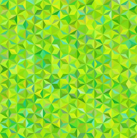 abstract background consisting of green small triangles, vector illustration
