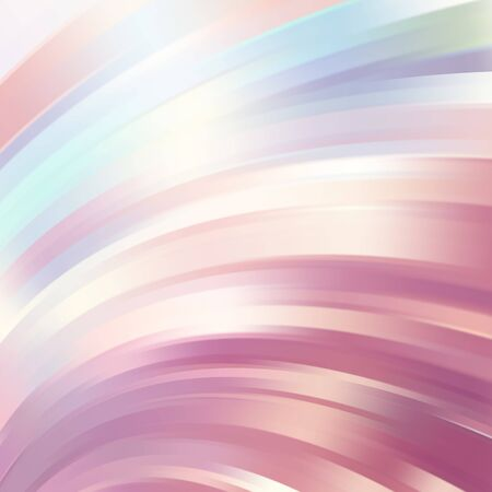 pink brown: Colorful smooth light lines background. White, pink, brown, blue colors. Vector illustration Illustration