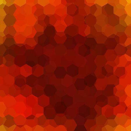 rojo oscuro: abstract background with dark red hexagons, vector illustration