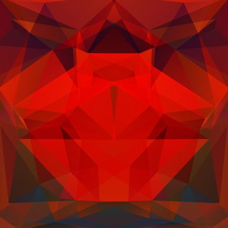 rouge et noir: abstrait compos� de rouge, triangles noirs, illustration vectorielle