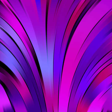 blue lines: Colorful smooth pink, purple, blue lines background. Vector illustration Illustration
