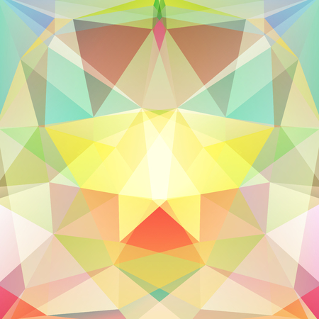 specular: abstract background consisting of colorful triangles, vector illustration
