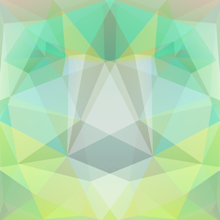 specular: abstract background consisting of light green triangles, vector illustration