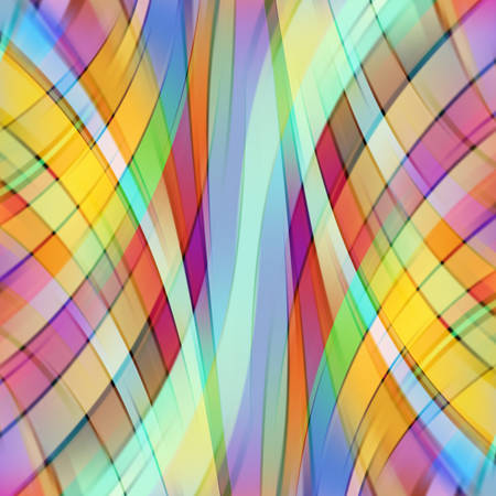 light brown: Colorful smooth light lines background. Yellow, red, green, brown colors. Vector illustration Illustration