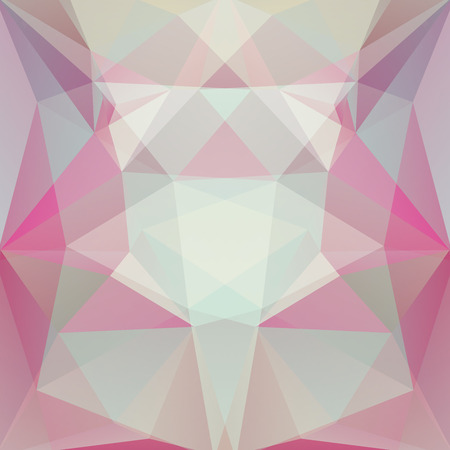 specular: abstract background consisting of green, gray, pink triangles, vector illustration Illustration