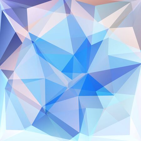 blau wei�: abstract background consisting of blue, white triangles, vector illustration