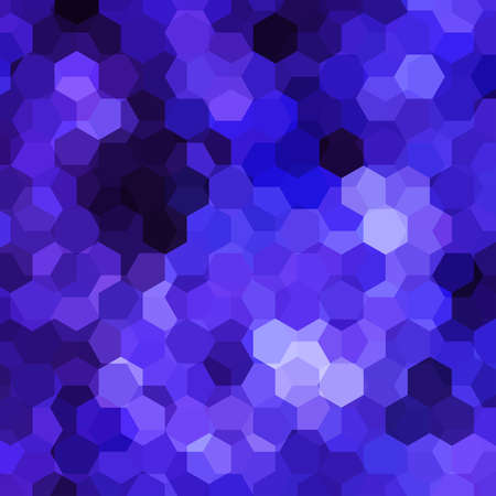 violet purple: abstract background consisting of violet, purple hexagons, vector illustration