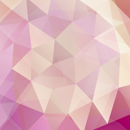 light pink: abstract background consisting of pastel triangles, vector illustration