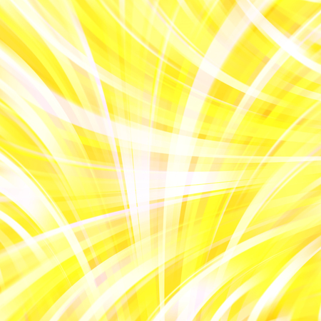 smooth background: Colorful smooth light lines background. Yellow, white colors. Vector illustration