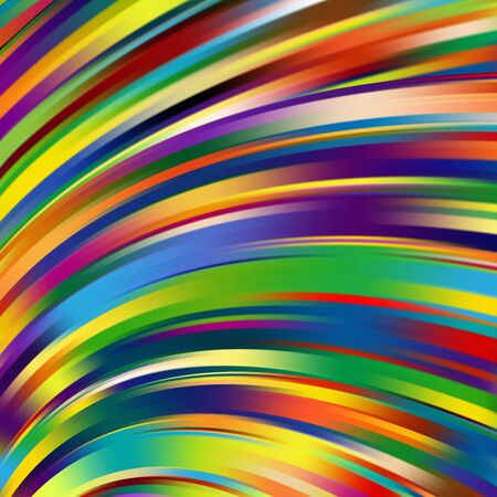 smooth background: Colorful smooth light lines background. Rainbow-colored. Vector illustration