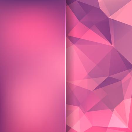 sensation: Background modern texture triangle geometry purple sensation, vector illustration