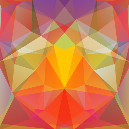 specular: abstract background consisting of triangles, vector illustration