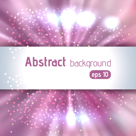futuristic girl: Beautiful rays of light. Shiny eps 10 background. Pink, white colors. Colorful radial radiant effect. Vector illustration
