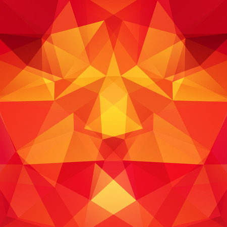 double page: Background made of triangles.  Square composition with geometric shapes. Eps 10 Illustration