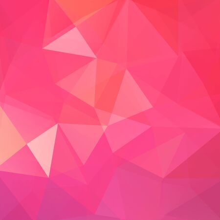 deep pink: Background of geometric shapes. Colorful mosaic pattern. Vector EPS 10. Vector illustration
