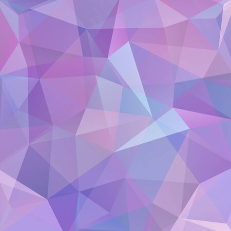 deep pink: Abstract background consisting of triangles. Geometric design for business presentations or web template banner flyer. Vector illustration Illustration