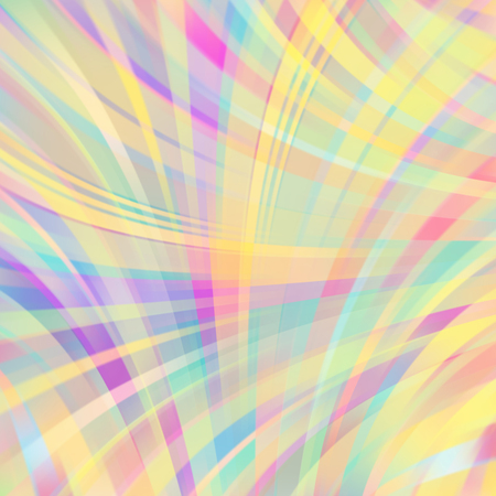 raster artistic: Colorful smooth light lines background Illustration