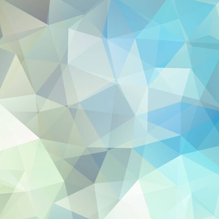 pastel color: abstract background consisting of triangles, vector illustration