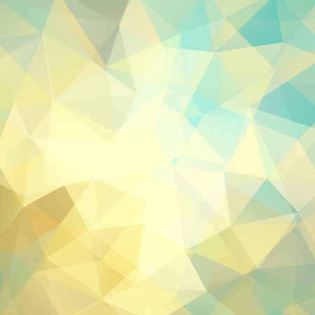 Abstrakten Hintergrund aus Dreiecken, Vektor-Illustration Standard-Bild - 51610494