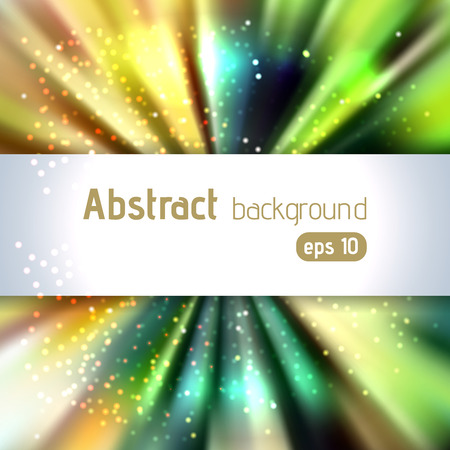place for text: Abstract artistic background with place for text. Illustration