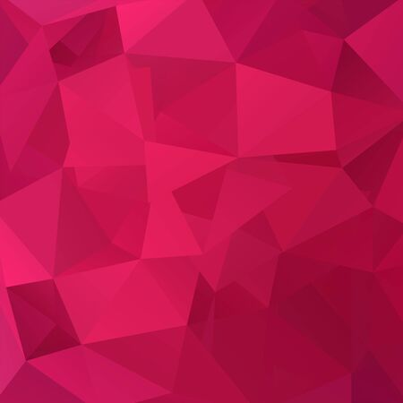 abstract background consisting of pink, red triangles, vector illustration