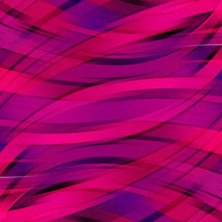 magenta: Pink smooth light lines background. Vector illustration