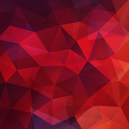 abstract background consisting of dark red triangles, vector illustration