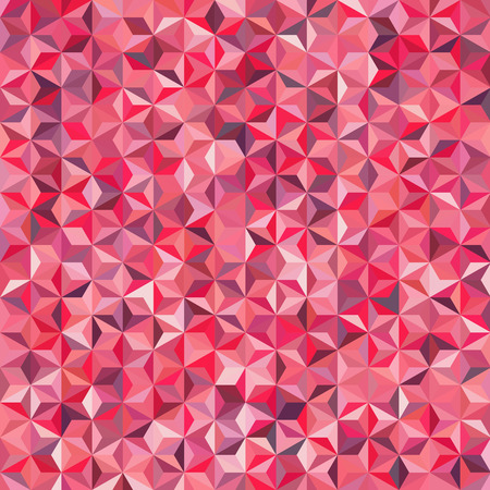scrunch: simple background consisting of small pink triangles, vector illustration Illustration