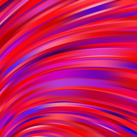Abstract pink, purple, red background with smooth lines. Color waves, pattern, art, technology wallpaper, technology background. Vector illustration. Иллюстрация