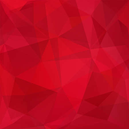 abstract background consisting of red triangles, vector illustration