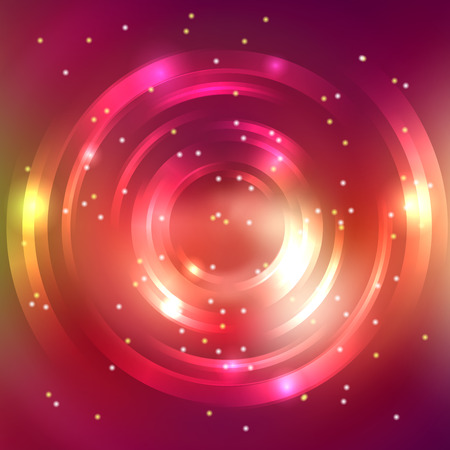 pink brown: Abstract background with colorful circle. Red, pink, brown colors. Vector illustration