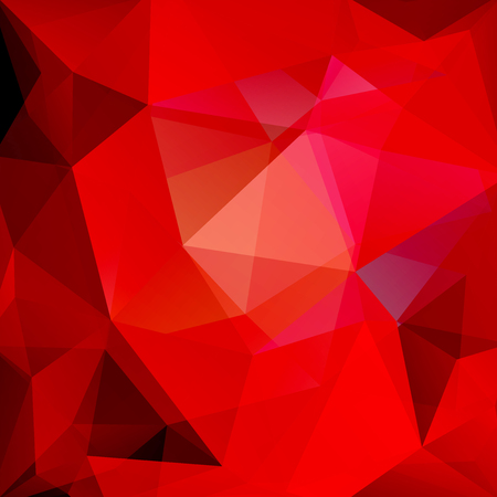 creased: Abstract geometric style red background. Red business background Vector illustration Illustration