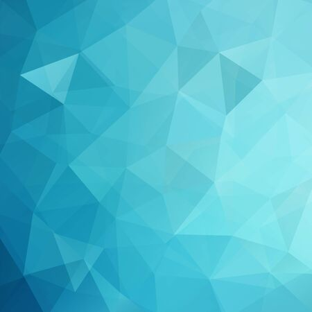 double page: Polygonal vector background. Can be used in cover design, book design, website background. Vector illustration