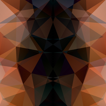 Background of geometric shapes. brown, black colors. Dark mosaic pattern. Vector EPS 10. Vector illustration