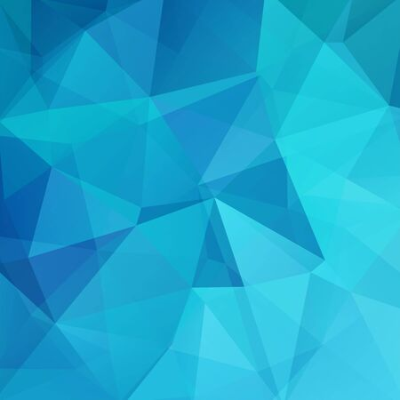 creased: Geometric pattern, polygon triangles vector background in blue tones. Illustration pattern