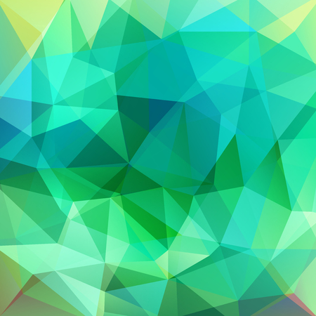 be green: Polygonal vector background. Can be used in cover design, book design, website background. Vector illustration. Green color. Illustration