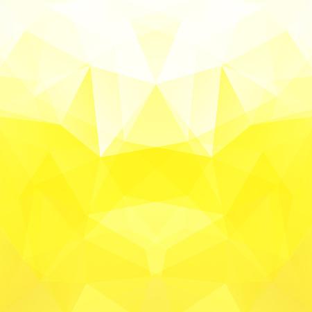 Achtergrond van geometrische vormen. Geel mozaïekpatroon. Vector EPS 10. Vector illustratie Vector Illustratie